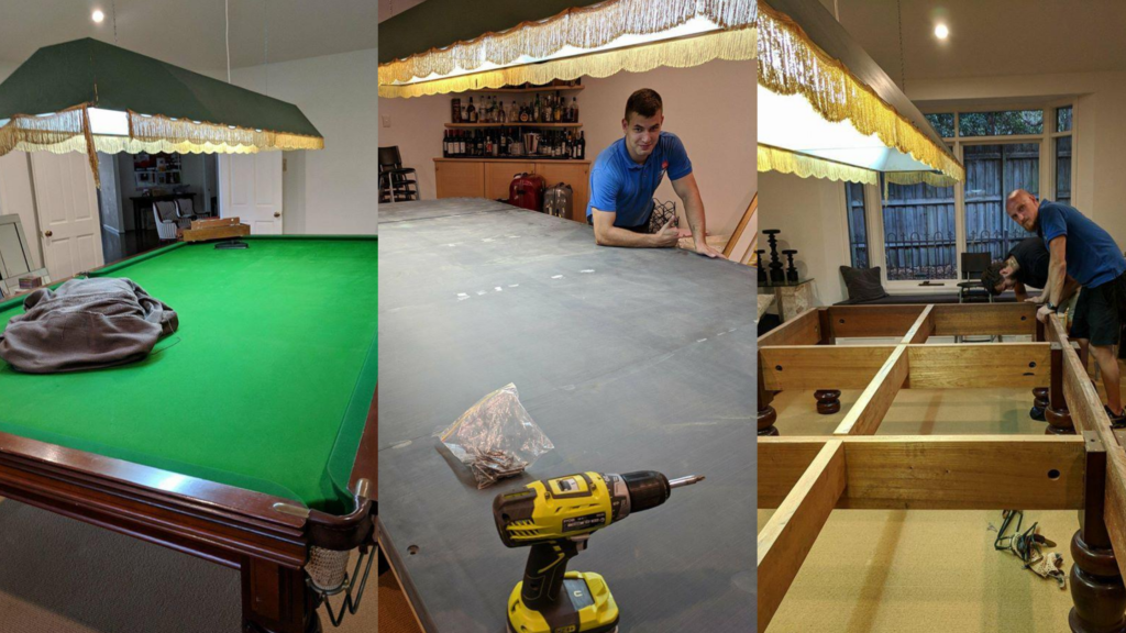 Snooker table removals