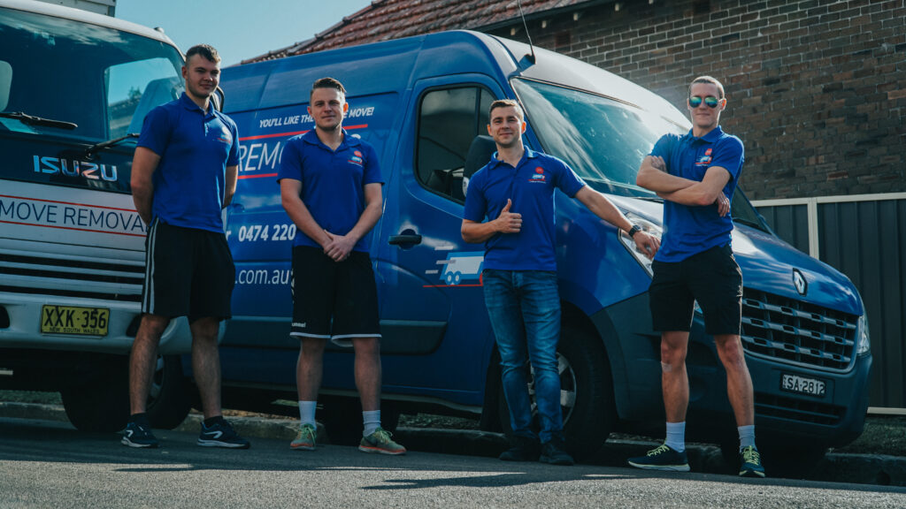 Removals team ABC local furniture movers