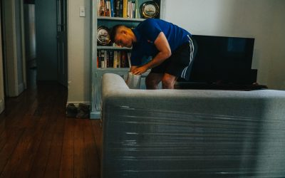 ABC Removalist stretch wrapping furniture